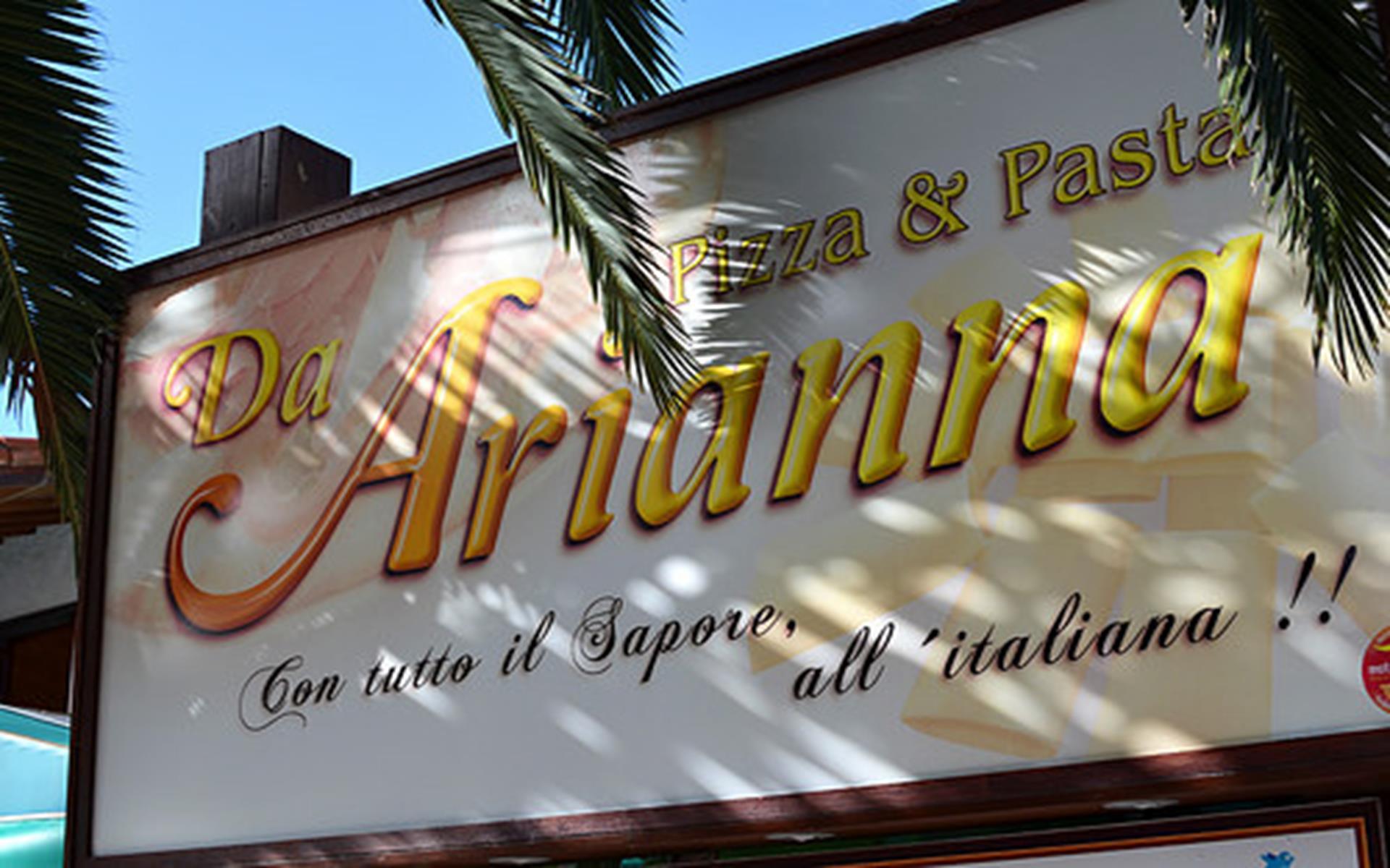Pizzería Da Arianna